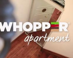 Whopper Apartment: un sueño hecho realidad