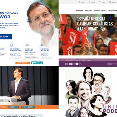 Elecciones 26J: ¿Quién saca mejor rendimiento de su web?